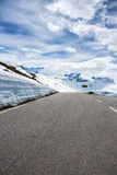 Road at the norway Royalty Free Stock Photography