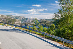 Road in Norway Royalty Free Stock Photos