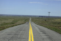 Road in Oklahoma Stock Image