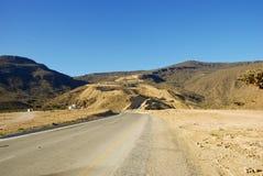 Road in Omani desert Stock Photography