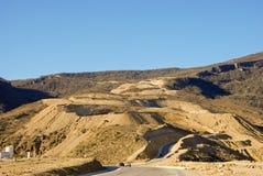 Road in Omani desert Royalty Free Stock Photo