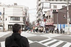 The road in Osaka,Japan Stock Photos