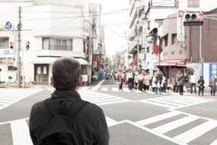 The road in Osaka,Japan Stock Image