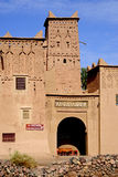 Kasbah Amridil in Morocco. The road from Ouarzazate to Erfoud is called `Road of the One Thousand of Kasbahs.` Just like it says, there are a lot of kasbahs stock photography