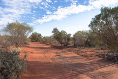 Road in outback Australia. Royalty Free Stock Photo