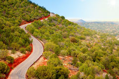 Road over the hill Royalty Free Stock Image