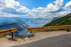 Road over the precipice Stock Photo