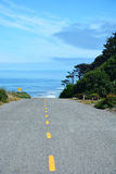 Road and Pacific ocean Royalty Free Stock Image