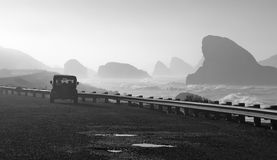 road of pacific west coast Stock Photography