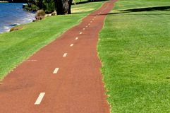 Road in a park Royalty Free Stock Photo