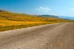 Road in the park Durmitor Country Montenegro Stock Photos