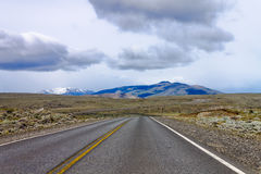 Road at Patagonia Argentina Stock Image