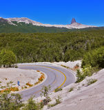 The road in Patagonia Stock Image