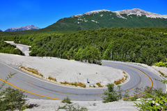 The road in Patagonia Stock Images