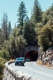 Tunnel in Yosemite National Park in USA Royalty Free Stock Photo