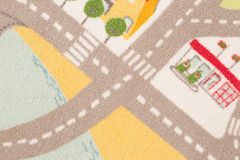 Road pattern Stock Photography