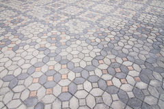 Road paved with the cobble stones Royalty Free Stock Photos