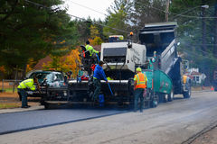 Road paving Royalty Free Stock Photography