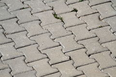 Road paving stones Royalty Free Stock Image