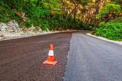 Road paving Royalty Free Stock Photo