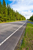 Road perspective Royalty Free Stock Photo