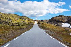 Road perspective Royalty Free Stock Image
