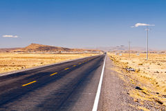 Road, Peru Royalty Free Stock Images