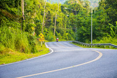 The road in phuket. View point in Phuket of Thailand Royalty Free Stock Image