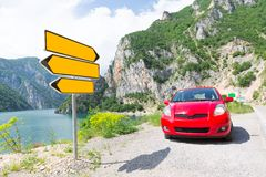 Road pointer Royalty Free Stock Photography