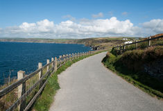 Road in Port Isaac Royalty Free Stock Photo