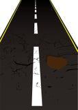 Road pot hole stock illustration