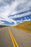 Road in prairie Stock Image