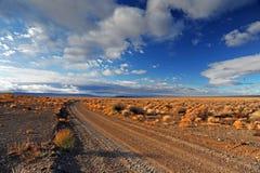 Road in the prairie. Road in the open prairie Stock Image