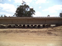 Road project in etiopia Royalty Free Stock Images