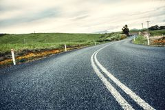 Road in Queensland, Australia Royalty Free Stock Images