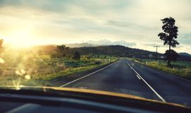 Road in Queensland, Australia Royalty Free Stock Image