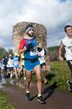 Road race, Marathon of the Epiphany, Rome, Italy Royalty Free Stock Photo