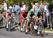 Road race rudersdal 2011 Royalty Free Stock Images