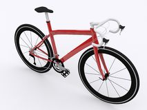 Road racing bicycle. On white background Stock Image