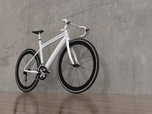 Road racing bicycle. On white background Stock Images