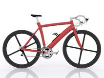 Road racing bicycle. On white background Royalty Free Stock Photo