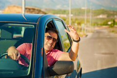 Road rage Stock Images