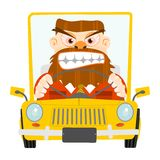 Road rage. Royalty Free Stock Photos