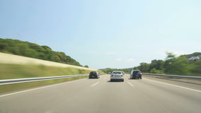 Road Rage Day Highway Camera Car Time Lapse High S Royalty Free Stock Photo