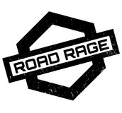 Road Rage rubber stamp Stock Photo