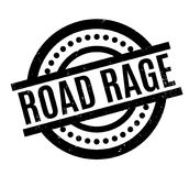 Road Rage rubber stamp Royalty Free Stock Photos