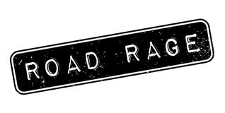 Road Rage rubber stamp Royalty Free Stock Image