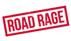 Road Rage rubber stamp Stock Image