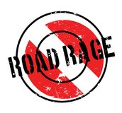 Road Rage rubber stamp Royalty Free Stock Photo