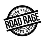 Road Rage rubber stamp Royalty Free Stock Images